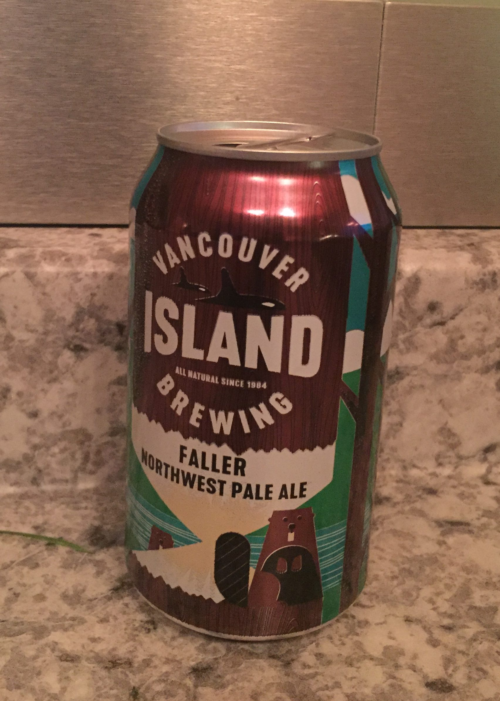Vancouver Island Brewing, Faller Northwest Pale Ale